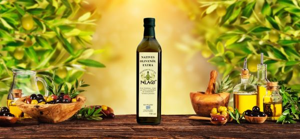 Pelagis Olivenöl 750 ml. / 12 Stk.Packung